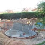 Como construir uma piscina de concreto